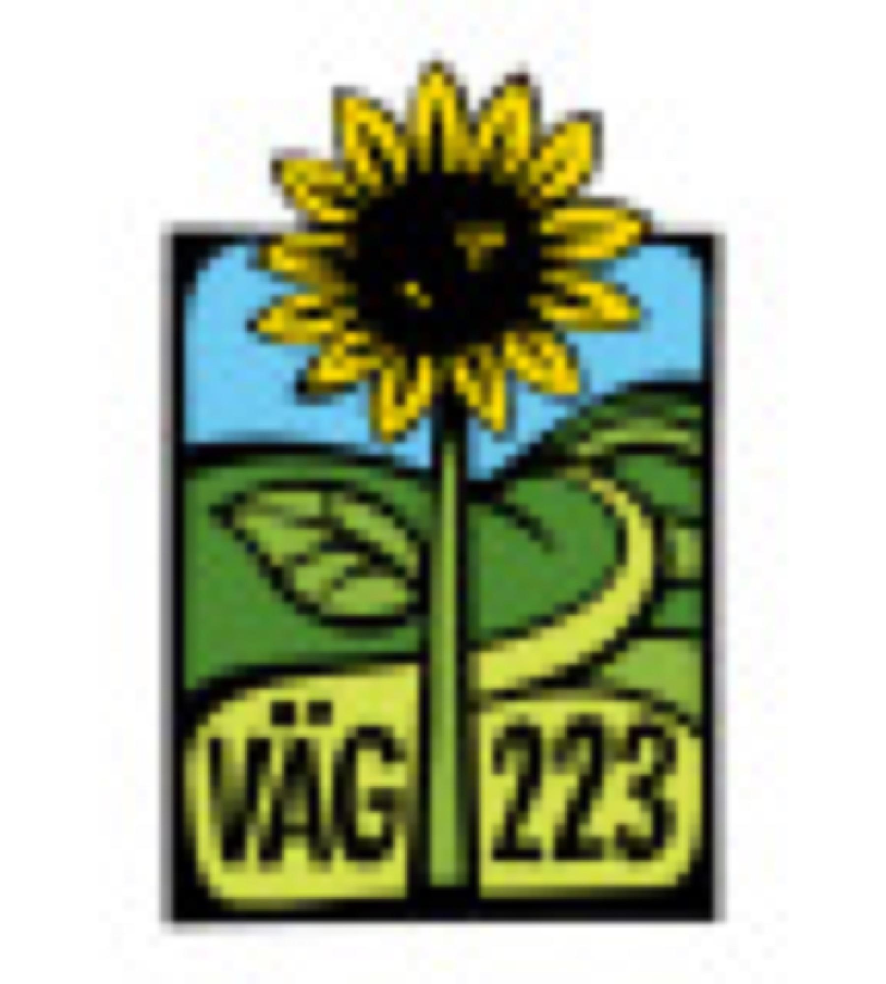 Logotyp, kvinnonätverk vid väg 223