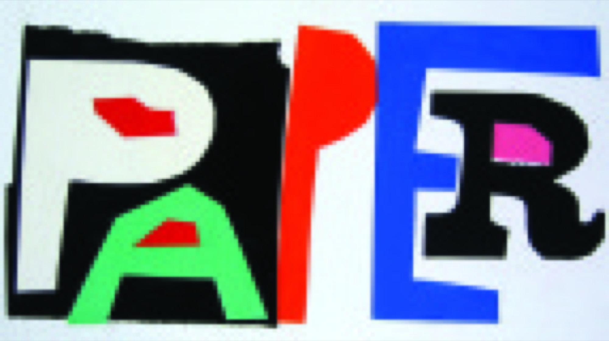 PAPER Magazine Logotype