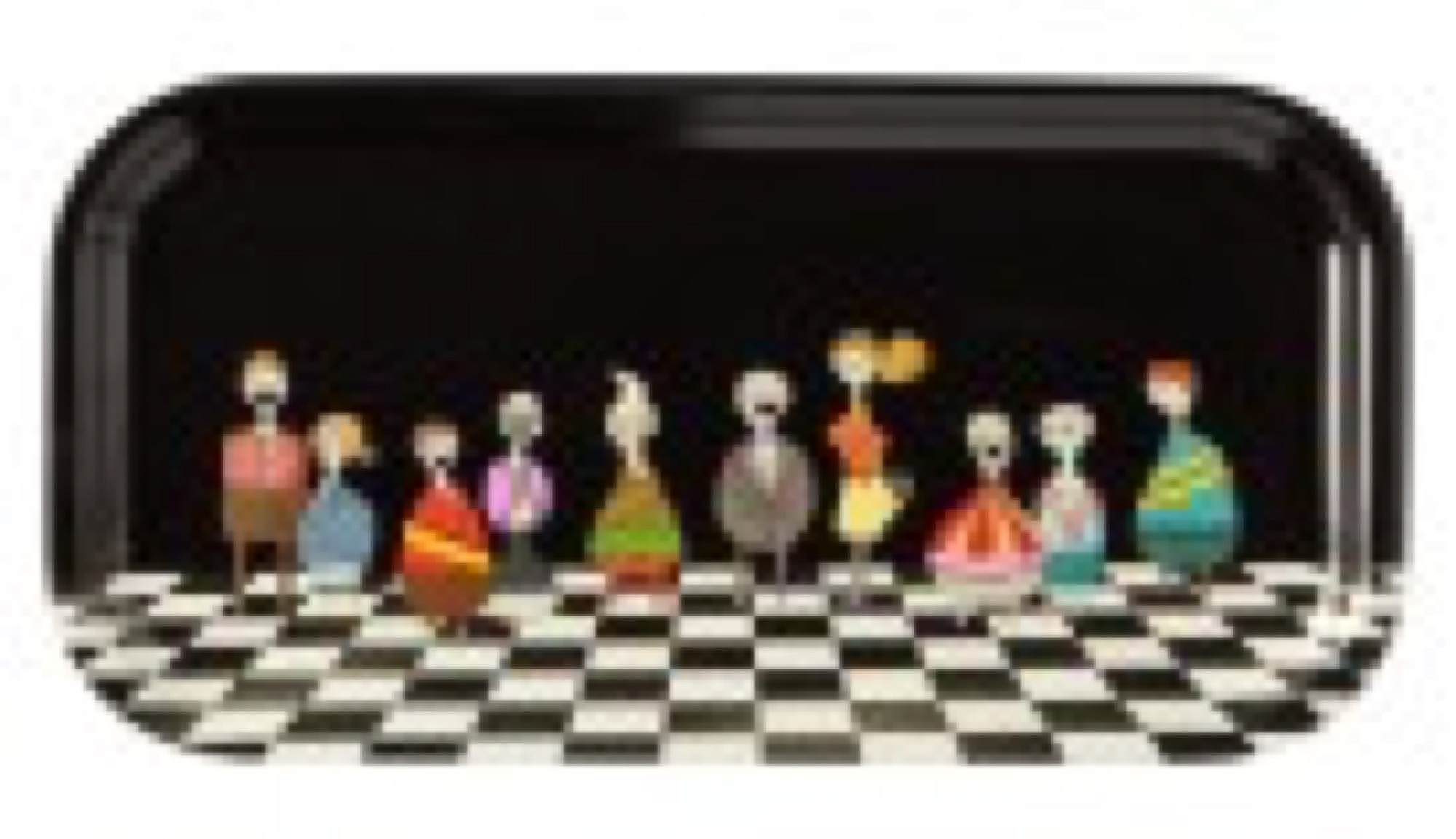 "Nordiska Galleriet ""The Usual Crowd"" tray"