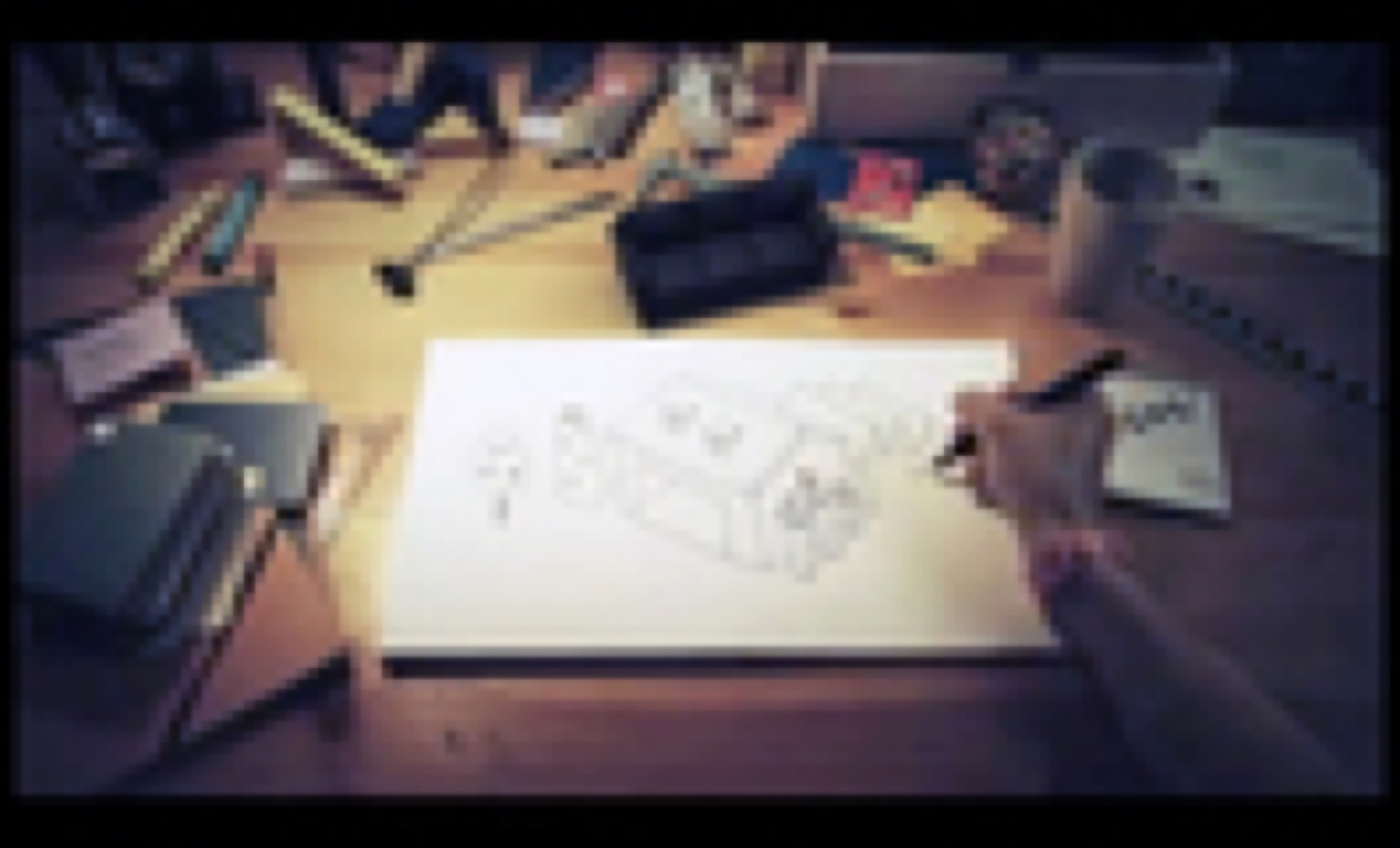 Live drawing for IKEA commercial /Camp David /IKEA