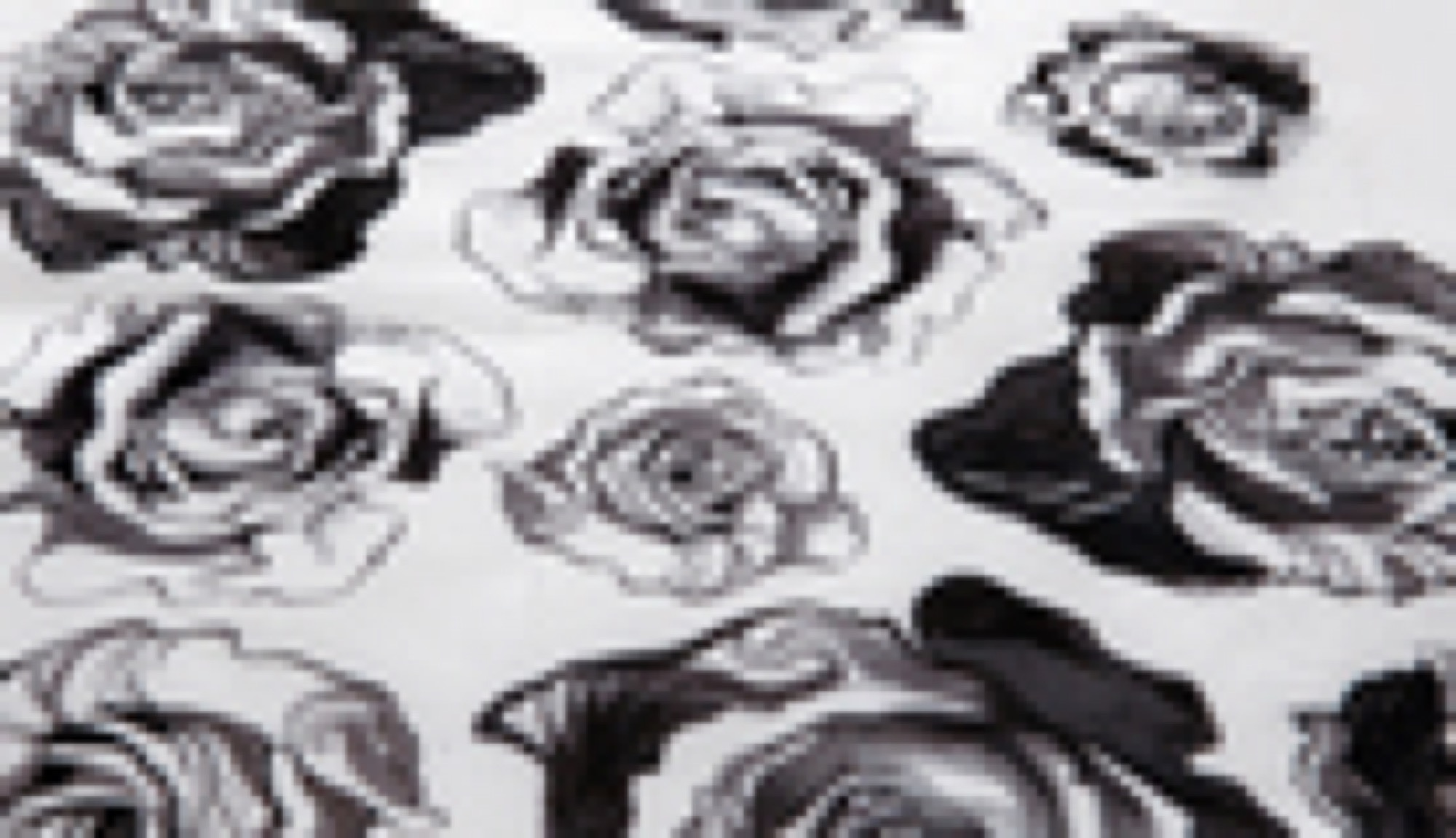 Alice in Wonderland Fabric - Rose
