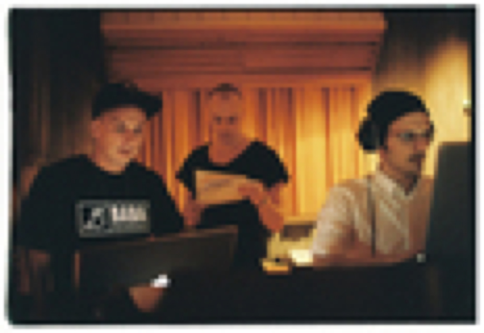 Petter, Magnus & Salem