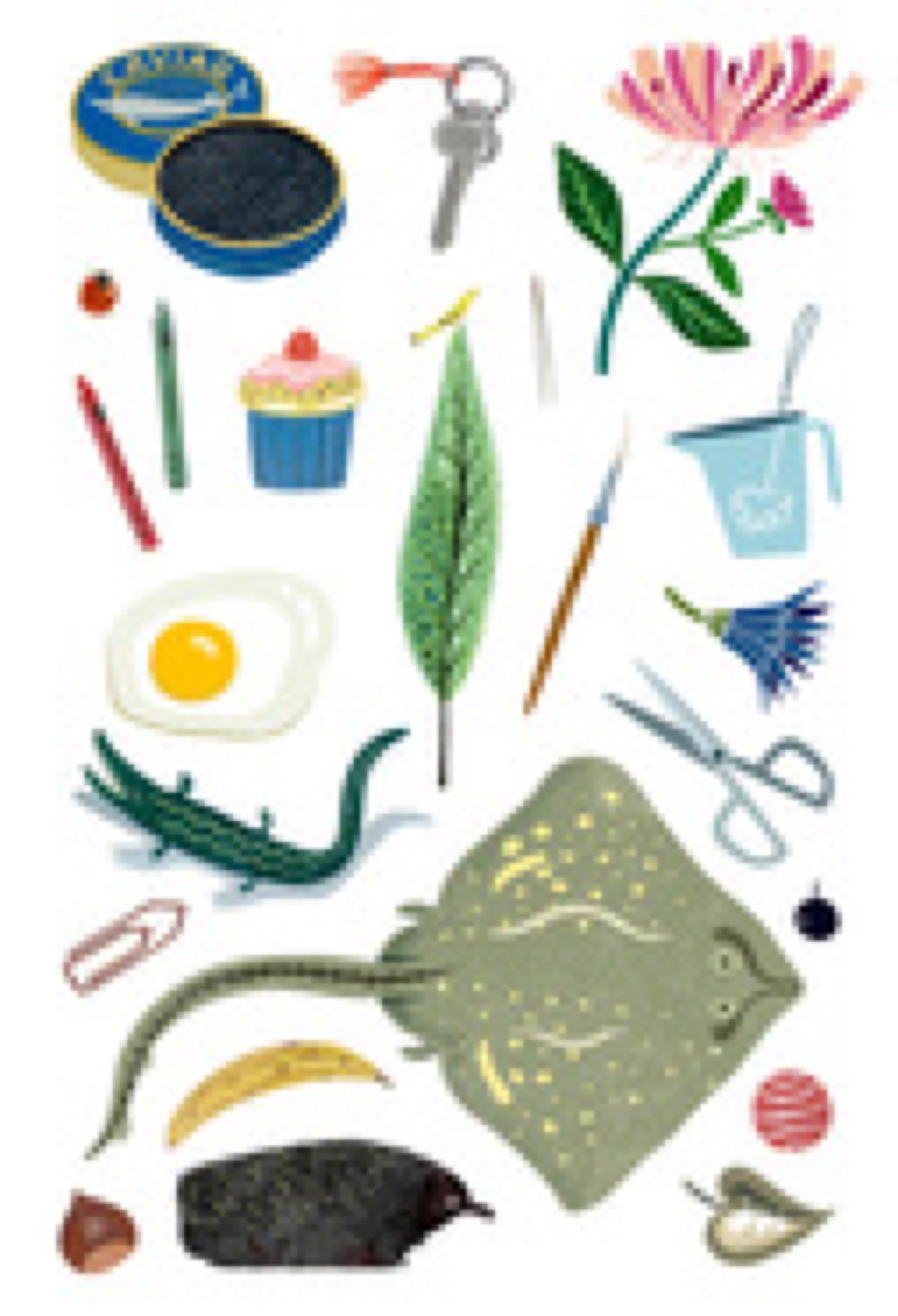 SMALL THINGS. Illustratör Lena Sjöberg