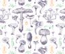 mushroom pattern 1 sagamariah