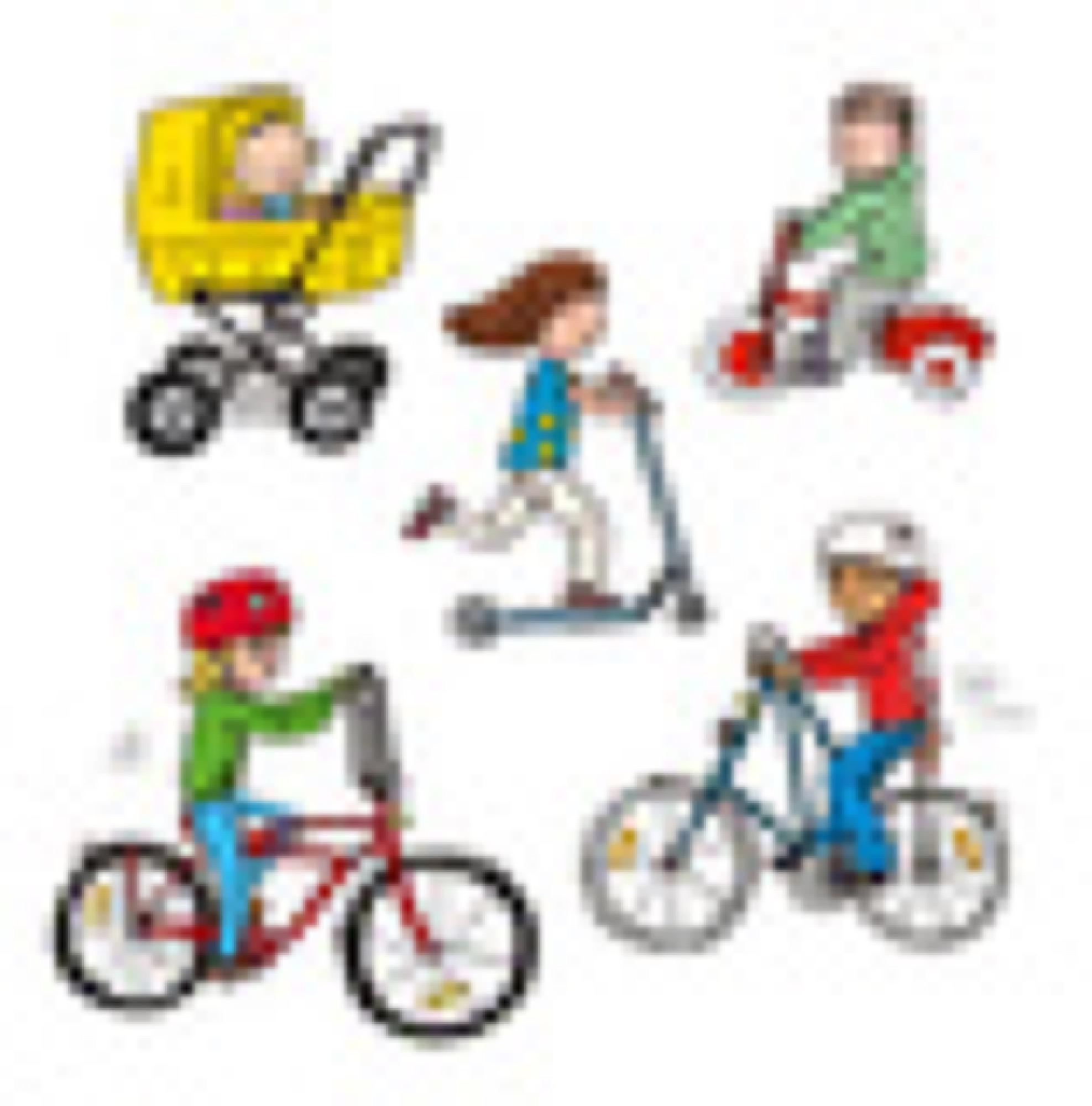 Häng med på cykel! Rabén&Sjögren
